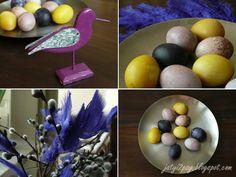 ręcznie robione, naturalnie barwione jaja  <3  hand made, naturally dyed eggs