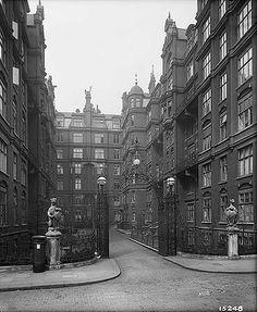 St Ermin's Mansions, Caxton Street,  London, 5 Apr 1899