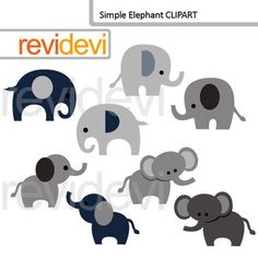 This simple elephant clip art set includes 8 graphics in grey and dark blue. Cute digital elephant graphic images for any projects.Cute clip art set for teachers and educators. Great resource for any school and classroom projects such as for creating bulletin board, printable, worksheet, classroom decor, craft materials, activities and games, and for more educational and fun projects.You will receive:- Each clipart saved separately in PNG format, 300 dpi with transparent background.- Each…