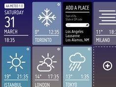AA Meteo for iPad - v0.0000001  by Alberto Antoniazzi