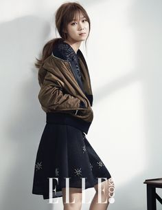 Gong Hyo Jin - Elle Magazine September Issue '14