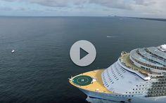Espectacular salida del Allure of the Seas desde Fort Lauderdale