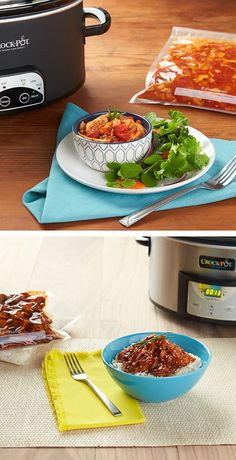 The meals are endless with Crockpot and FoodSaver vacuum sealer. Tasty every single time!