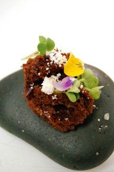 CHOCOLATE-TOGARASHI // foie powder // pop rocks