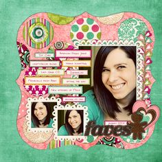 How One Day and 35 Layouts Changed the Way I Scrapbook | NettioDesigns