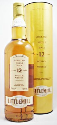 Littlemill Scotch Whisky 12 year old 40% 70cl