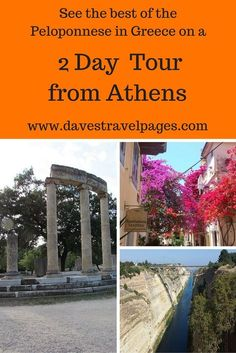 See the Best of the Peloponnese during a 2 day tour from Athens. During the 2 day Peloponnese tour, you can visit Corinth, ancient Olympia, beautiful Nafplio, and also drop by a winery to sample some local wine. Read the full article for more travel inspi