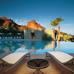 Sanctuary on Camelback Mountain Resort & Spa in Scottsdale, Arizona. Great holistic health spa and fitness center Vacation Destinations, Vacation Trips, Dream Vacations, Vacation Spots, Arizona Resorts, Scottsdale Resorts, Scottsdale Arizona, Arizona Attractions, Best Resorts