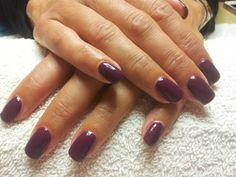 Plum noir semi permanente