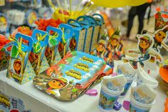 Detalhes da Decoração da Festa Subway Surfers #decoracao #subwaysurfers #festa…