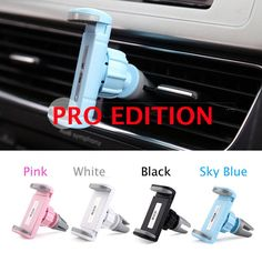 Hot Universal car air vent holder suporte celular carro for Iphone 4 4S 5 5S 6 Plus Samsung galaxy S4 S5 phone cradle