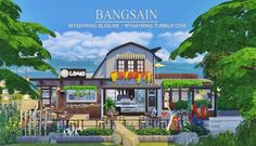 House 019 Beach Cafeteria by Bangsain at My Sims House via Sims 4 Updates