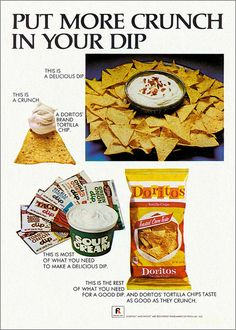 Doritos ad, 1971 | Flickr - Photo Sharing!