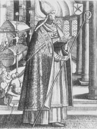 St. Perpetuus pray for us. Feast day April 8.