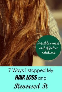 Hair loss can be scary and frustrating. Are you losing way more hair than you used to in the shower or in your brush? Easy tips that worked to stop my hair loss.