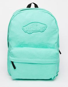 Image 1 of Vans Realm Backpack in Mint Green