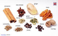 Spices vocabulary