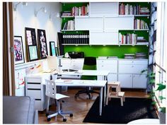 Ikea office inspiration