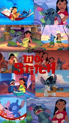 Made by: Bianca G Cute Disney Wallpaper, Wallpaper Iphone Cute, Cute Cartoon Wallpapers, Cool Wallpaper, Phone Wallpapers, Wallpaper Backgrounds, Disney Stitch, Lilo And Stitch, Cute Stitch