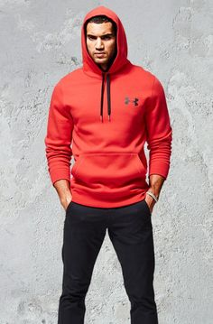 Under Armour Rival Fleece Hoodie. The perfect gift for him. Fuller cut for complete comfort. It's like his favorite old-school sweatshirt...only better.