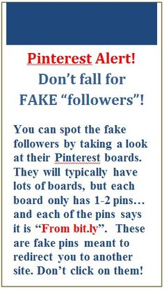 Beware of these fake followers~Please spread it around..... thank YOU :D`