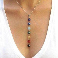 Chakra Beads Necklace #ChakraMeditation