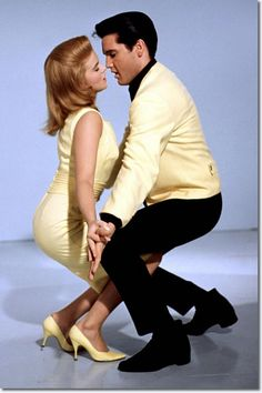 Ann Margret and Elvis Presley.