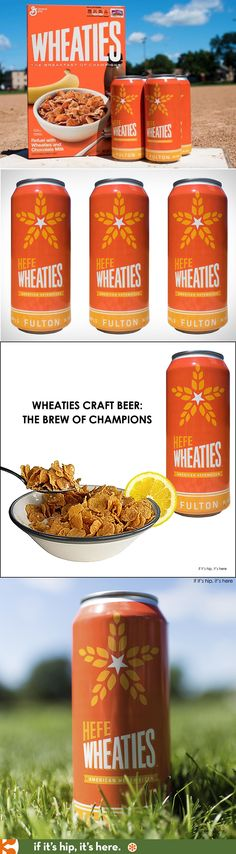 Wheaties and Fulton Brewery Launch HefeWheaties, a limited edition craft beer.
