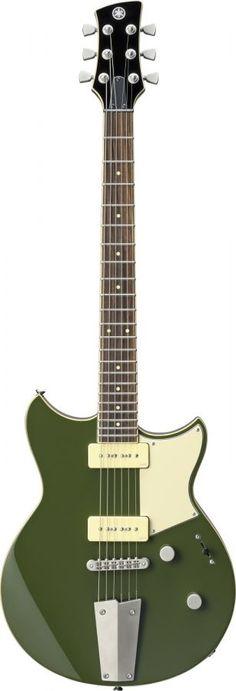 Yamaha Revstar 502T electric guitar, Bowden Green featuring special Aluminium tailpiece