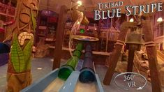 Tikibad 2019 Blue Stripe 360° VR POV Onride