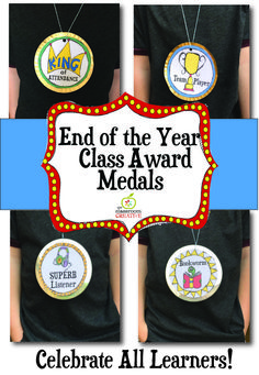 end of the year awards, end of the year award medals
