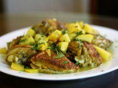 Dinner Tonight: Pan-Fried Mango Chicken   Serious Eats : Recipes