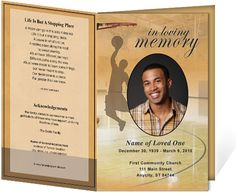 214 best creative memorials with funeral program templates images