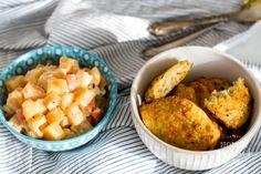 Quinoa placky a tuřínový salát | Hodně domácí Quinoa, Cantaloupe, Macaroni And Cheese, Fruit, Ethnic Recipes, Food, Mac And Cheese, Essen, Meals