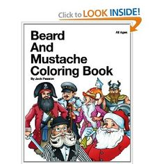 beard and mustache coloring book - Bill Murray Coloring Book
