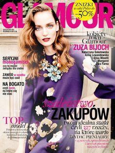 Zuzanna Bijoch, Glamour Magazine [Poland] (October 2014)