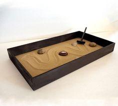 Zen Garden Zen Box Brown Home Decor Coffee Table By MiniZenGarden