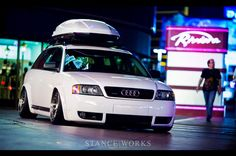 Bagged and Boxed Audi Allroad