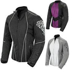 f218ddc3bd Joe Rocket Alter Ego 3 Womens Waterproof Jacket Motorcycle Riding Gear