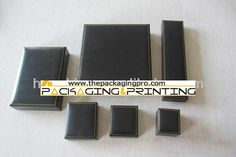 Fake Leather Paper Covering Jewelry Box with Goldline - http://www.thepackagingpro.com/products/fake-leather-paper-covering-jewelry-box-with-goldline/