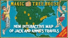 Magic Tree House: My Reading Buddies  Travel around the world with Jack and Annie Download your Reading Buddies Educator Guide to get started. http://www.magictreehouse.com/?Ref=Email_Kids_2014-10-6#reading_buddies