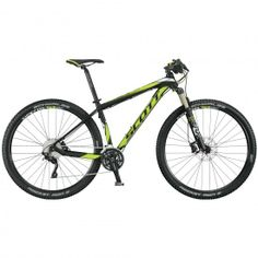 A lightweight, durable hardtail designed for world-class speed, the Scott Scale 950 Mountain Bike pairs precise Shimano parts with a suspension fork for climbs, flats and descents. 29er Mountain Bikes, Mountain Bicycle, Mountain Biking, Scott Scale, Scott Sports, Scott Contessa, Kona Bikes, Mtb Parts, Ski