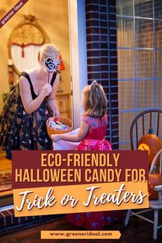 Halloween is one holiday everyone enjoys. Whether it's carving out a #pumpkin together or planning for your Halloween outfit to outdo others', it's an exciting time of the year. But when it comes to dishing out candy on Halloween, make sure you're giving out treats that reflect your environmental sensibilities. Here's our list of the top candy for trick or treaters. Check them out! #Halloween #Treat #Trick #TrickorTreat #Ecofriendly #GreenLivingTips #GoGreen #Candy #Holyday #Sustainable…
