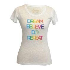 T-shirt: Maraboo Dream Believe Do Repeat Repeat, Believe, T Shirt, Outfits, Tops, Women, Fashion, Supreme T Shirt, Moda