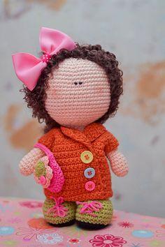 Doll amigurumi ༺✿ƬⱤღ  https://www.pinterest.com/teretegui/✿༻