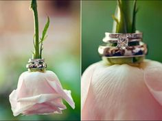 Not so big on the ring but the idea is adorable !