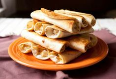 Chicken, Peppers and Cream Cheese Taquitos - myrecipemagic.us