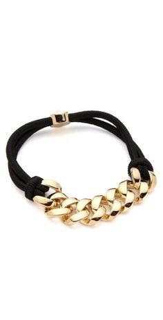 marc jacobs bracelet.  (DIY inspiration)