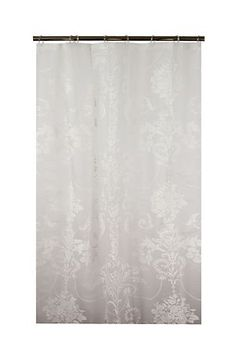 DAMASK PRINT SHOWER CURTAIN