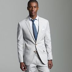 Groom -  I would like to see groom's wearing more light grey- maybe this summer?